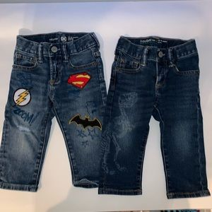 Gap jeans bundle (2) 12-18 mos